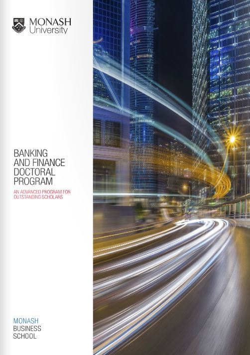 Banking and Finance Doctoral Program
