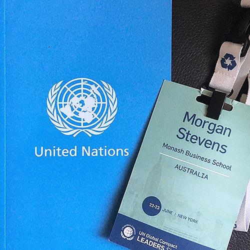 Morgan Stevens UN Summit