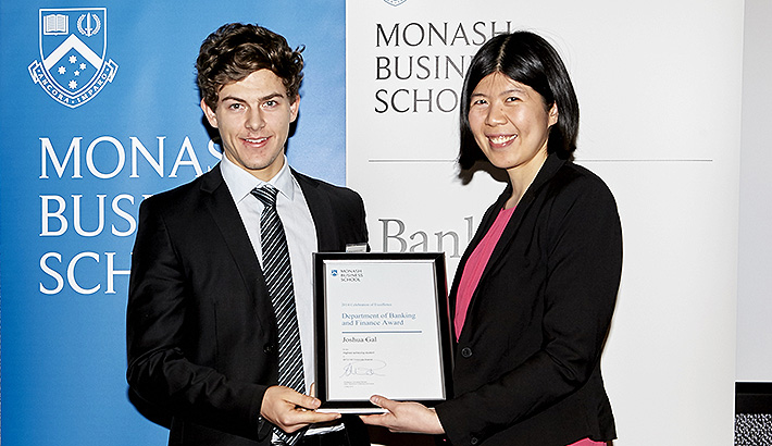 Banking and Finance Student Awards 2015