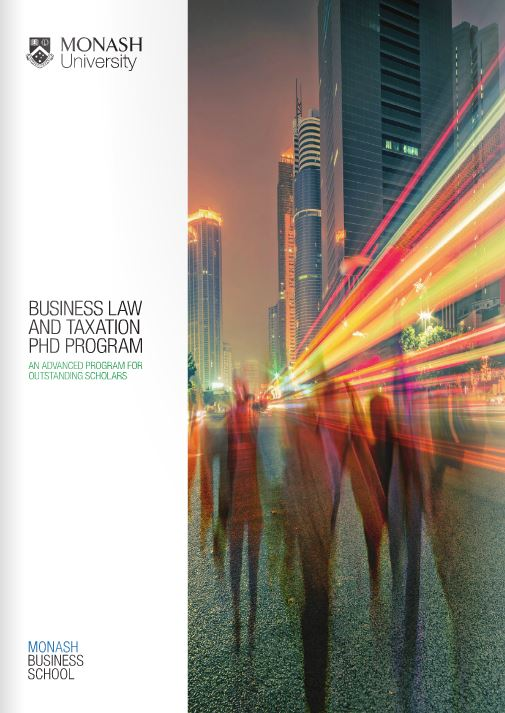 Business law and taxation program