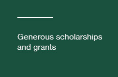 Scholarships and grants button